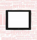 Black Abstract Tablet Pc ipad