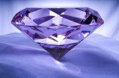 Diamond On Satin