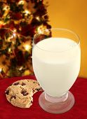 Milk And Cookie For Santa