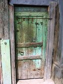 An old door.