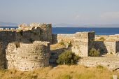 View on fortress on Kos island, Greece