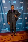 LOS ANGELES - APR 20:  Alex Newell arrives at the 2013 GLAAD Media Awards at the JW Marriott on Apri