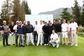 LOS ANGELES - APR 15:  Jack Wagner and Celebrity Golfers at the Jack Wagner Celebrity Golf Tournamen