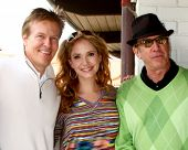 LOS ANGELES - APR 15:  Jack Wagner, Ashley jones, Tim Allen at the Jack Wagner Celebrity Golf Tourna