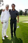 LOS ANGELES - APR 15:  Jack Wagner, Benjamin Bratt at the Jack Wagner Celebrity Golf Tournament  at