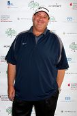 LOS ANGELES - APR 15:  Brian Baumgartner at the Jack Wagner Celebrity Golf Tournament benefitting th