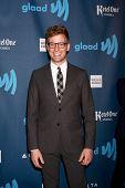 LOS ANGELES - APR 20:  Barrett Foa arrives at the 2013 GLAAD Media Awards at the JW Marriott on April 20, 2013 in Los Angeles, CA