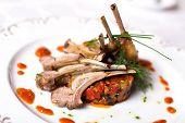 Lamb Meat On Bones