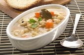 White Bean Soup With Carrots