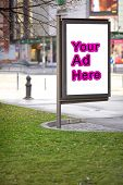 Public Advertising Space For Promotion Purpouse