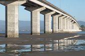 Bridge Over Mudflats