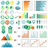 stock photo of gender  - Set of infographic elements - JPG
