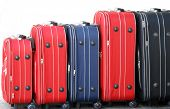 Suitcases, travel Bags poster