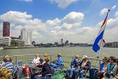 On A Boat Tour In Rotterdam