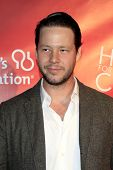 LOS ANGELES - APR 25:  Ike Barinholtz arrives at the Second Annual Hilarity For Charity benefiting T