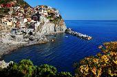 Manarola Village, Cinque Terre, Italy