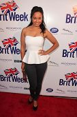 LOS ANGELES - 23 de abril: Rhea Bailey chega no 7º Festival anual de BritWeek