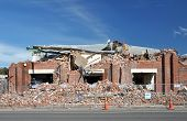 Christchurch Earthquake - Brick Factory Destroyed