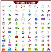 Colorful Science Icon