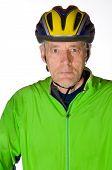 Man In Bicycle Tenue