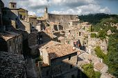 Pitigliano Town