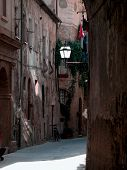 Narrow Medieval Street