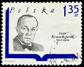 Poland Stamp, Leon Kruczkowski