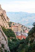 Monastery Of Montserrat Near Barcelona, Spain