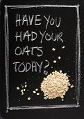 Had Your Oats Today?
