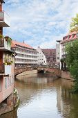 Fleisch Bridge In Nuremberg, Germany