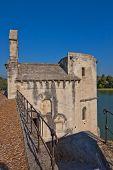 Chapel Of Saint-nicolas On Saint-benezet Bridge. Avignon, France