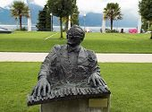 Monument Of Singer-songwriter Ray Charles, Montreux, Switzerland