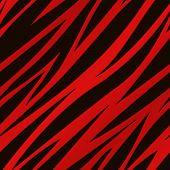 Red Zebra Print