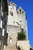 Episcopal city of Rocamadour, France, view from Grand Stairway