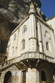 Notre Dame de Rocamadour chapel in Episcopal City of Rocamadour, France