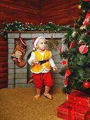 Baby Christmas Gifts And Christmas Tree