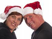 Attractive Christmas Couple