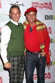 LOS ANGELES - DEC 1:  Johnny Chaillo, Greg Louganis at the 2013 Hollywood Christmas Parade at Hollyw