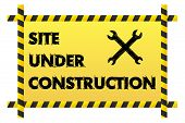 Site Under Construction Banner