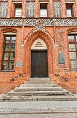 House Of Nicolaus Copernicus (xv C.) In Torun, Poland