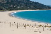 picture of tarifa  - Beautiful view on beach and ocean Spain Tarifa - JPG
