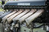 Rolls Royce Merlin Aero Engine