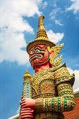 Jiant Statue In Wat Phra Kaew , Thailand