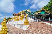 Sagaing, Myanmar- October 9: U Min Thonze Cave - A Greatly Revered Buddhist Temple, Sagaing, Myanmar