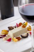 Foie gras with red wine pairing