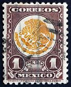 Postage Stamp Mexico 1934 Coat Of Arms Of Mexico
