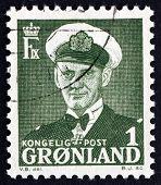 Postage Stamp Denmark 1950 Frederik Ix, King Of Denmark