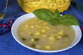 Southwestern Potato and Corn Soup