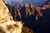 picture of brahma  - Brahma Temple and Zoroaster Temple North Rim Grand Canyon National Park Arizona - JPG