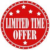 Limited Time Offer-label